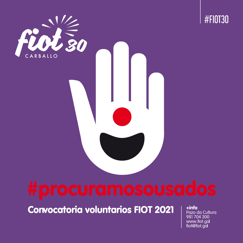 Convocatoria de voluntariado do FIOT 2021
